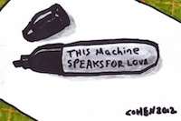 This machine speaks for love