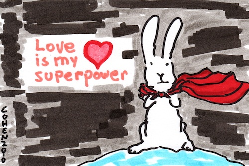 Love is my superpower