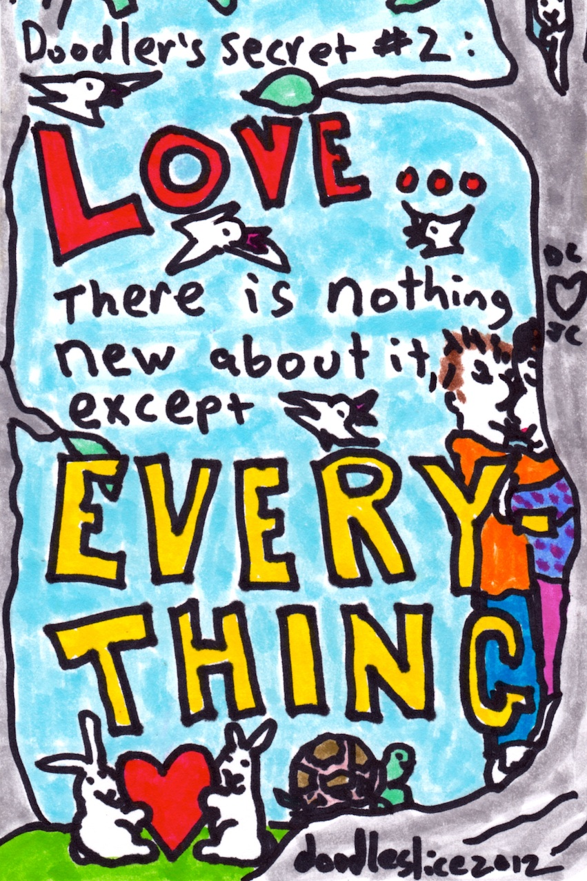 nothing new about it - doodle no.1635 by doodleslice David Cohen