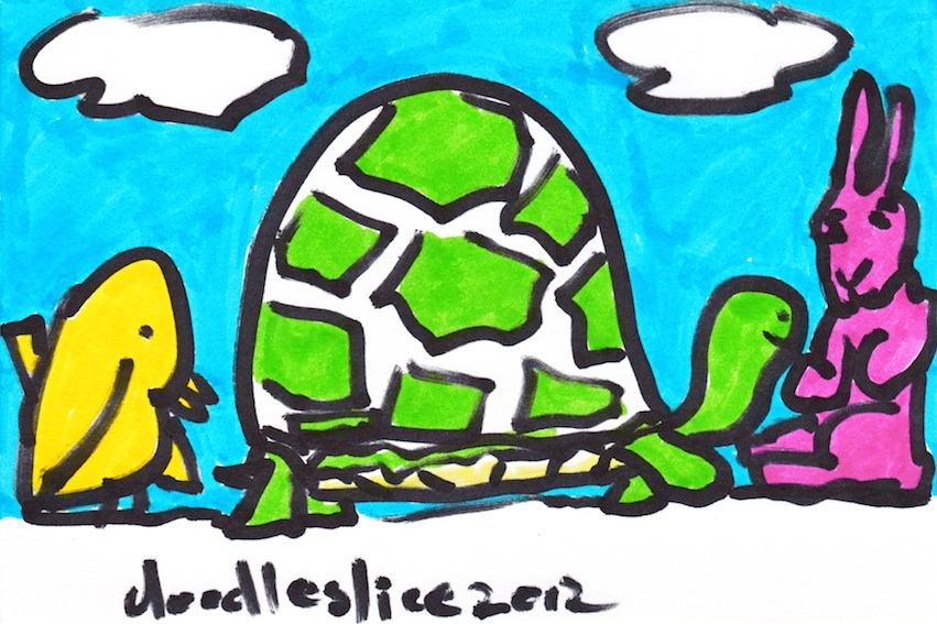 praise for the steadfast - doodle no.1636 by doodleslice David Cohen