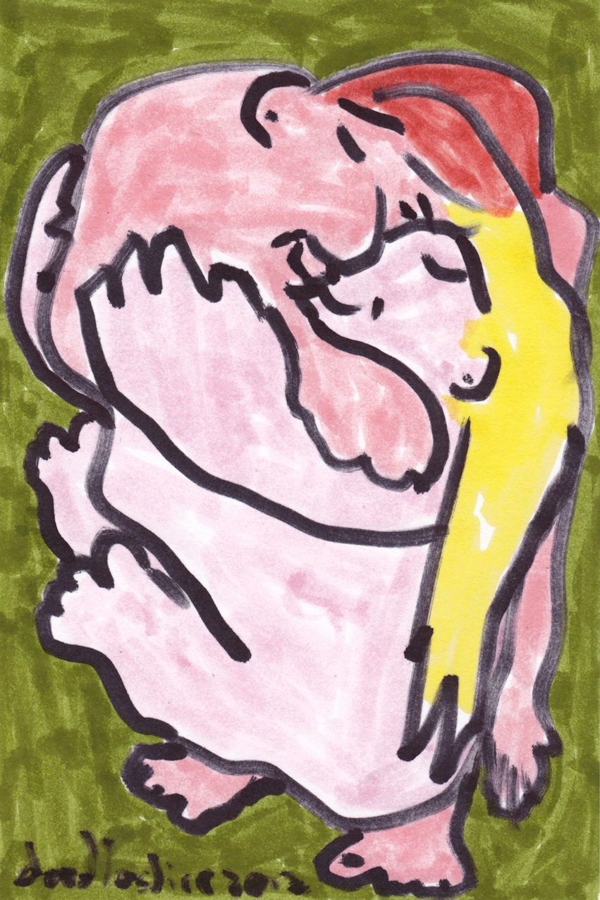 love smush - doodle no.1646 by doodleslice David Cohen