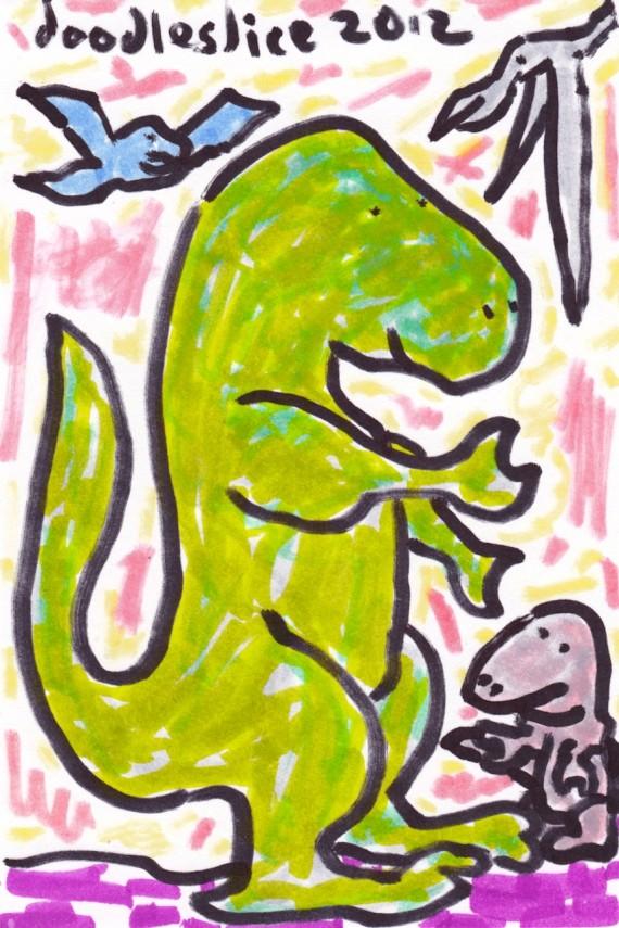 Prehistoric precedent - doodleby doodleslice David Cohen