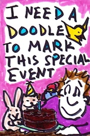 Help I need a doodle to mark a special event!