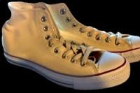 plain sneakers