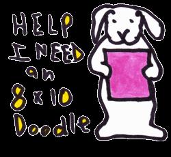 Help I need an 8x10 inch doodle