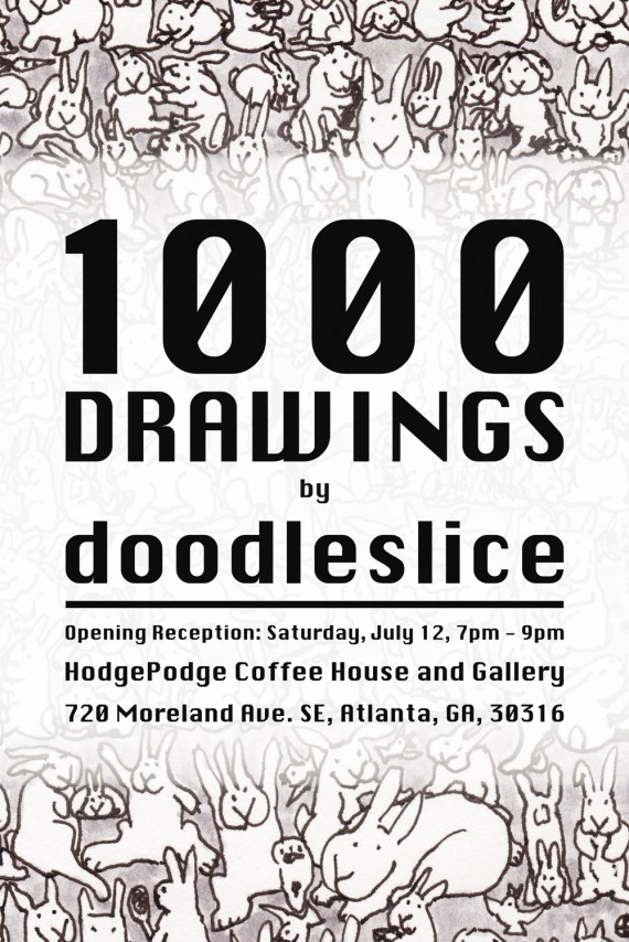 1000 Drawings at HodgePodge